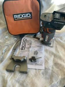 RIDGID R860443 18V OCTANE Cordless Brushless Compact Router open box