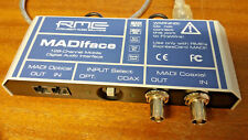 RME MADIFACE ExpressCard 34 128 channel Numérique Mobile Interface Madi carte.