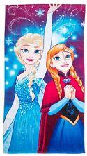 NUOVO Disney Frozen LUCI TELO DA SPIAGGIA PER RAGAZZE vacanza che nuota