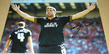 GRANT HOLT WIGAN ATHLETIC PERSONALLY HAND SIGNED 12X8 AUTOGRAPH PHOTO