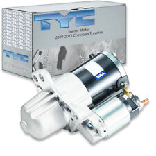 TYC Starter Motor for 2009-2015 Chevrolet Traverse 3.6L V6 wz