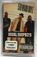 5TH WARD BOYZ * Usual Suspects - FREE SHIPPING Music Cassette Tape HIP HOP