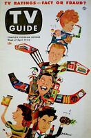 TV Guide 1953 I Love Lucy Lucille Ball & Baby Arthur Godfrey Desi #3 EX/NM COA