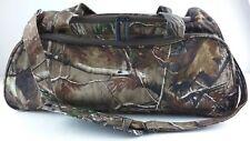Realtree Uline Camouflage Duffel Bag Camo Gym Hunting Camping Fishing New