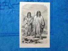 Gravure Année 1864 - Indiens Antis - Indiani Antis