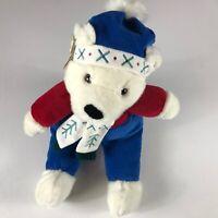 "Plush Creations Polar Bear VTG 1998 Snow Buddies Large 20"" Stuffed Original Tags"