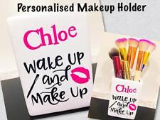 BIRTHDAY GIFT PRESENT PERSONALISED MAKE UP BRUSH HOLDER 16TH 18TH 21ST 30TH
