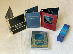 VERSACE EROS / D&G LIGHT BLUE / PASHA DE CARTIER / MISSONI WAVE HERRERA EDP EDT