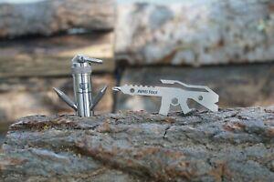TacWare Titanium Mini Grappling Hook GEN I & Titanium ARti Tool - SHIPS FROM USA