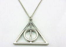 New Harry Potter Deathly Hallows Pendant Necklace Unique GIFT for Her or HIM