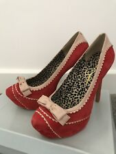 Jessica Simpson Kurt Geiger Red Wow Shoes Size 6