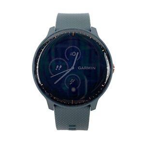 Garmin Vivoactive 3 Music Granite Blue w/Rose Gold Smartwatch 010-01985-31