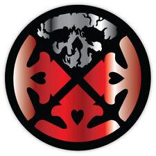 "Life of Agony skulls sticker decal 4"" x 4"""