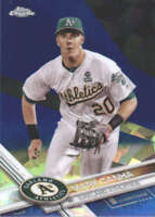 MARK CANHA 2017 TOPPS CHROME SAPPHIRE EDITION #369 ONLY 250 MADE