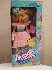 1987 Hasbro Perfect Prom Maxie Doll w/ Poseable Waist & Legs #8220