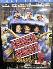 Redneck Comedy Roundup 2 NEW DVD, Jeff Foxworthy,Ron Shock,Jerry Springer,Comedy