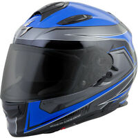 Scorpion Exo-T510 Full-Face Tarmac Helmet Blue Black