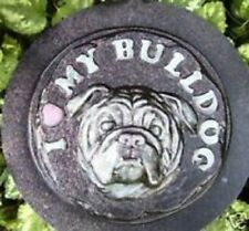 Bulldog stepping stone abs plastic mould concrete mold plaster mold mould