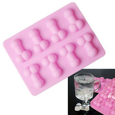Sexy Penis Silicone Cake Candy Chocolate Mold Adult Party Soap Ice Cube Molds
