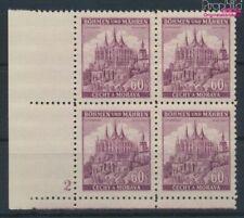 Bohemen en Moravië 27 met Nummerplaat postfris MNH 1939 Ruttenberg (9310332