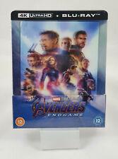 Avengers Endgame 4K Ultra HD Steelbook Lenticulaire (Blu-ray 2D Inclus) Zavvi