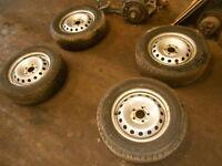 1 Satz Stahlfelgen 4 Stück Felgen Opel Vivaro Nissan Primastar Renault Traffic