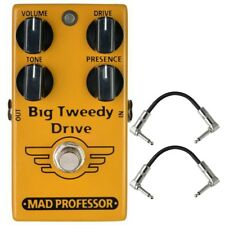 Mad Professor Big Tweedy Drive Overdrive Guitar Effect Pedal True Bypass +Cables
