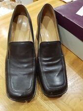 Milano Brown 'Mocca' Shoes - Size 38 - Worn a couple of times