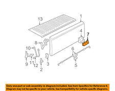 GM OEM Tail Gate Tailgate Hatch-Handle Bezel 15991786