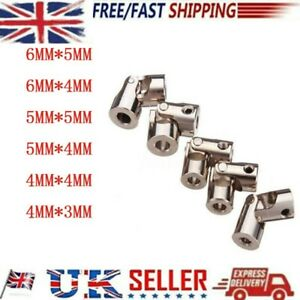 For RC Model Car Boat Vehicle Metal Universal Joint Shaft Coupling-ACCESSORIES