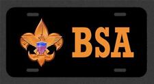 BSA Boy Scouts Of America License Plate Tag Made In The USA metal new eagle
