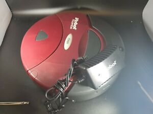 iRobot Roomba 2007 MAROON-for parts only includes OEM cord. needs cleaning