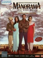 MANORAMA SIX FEET UNDER - SHEMAROO BOLLYWOOD DVD - Abhay Deol, Gul Panag, Rama.
