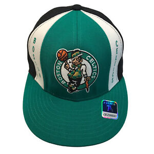 Boston Celtics NBA Reebok Hardwood Classics Retro 7 3/8 Fitted Cap Hat $25