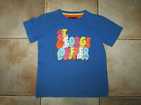 Boys St George By Duffer Impressive Electric Blue T-Shirt 9-10 years
