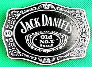 """Belt Buckle """"Jack Daniel's"""" Fit 4 cm Wide Belt, DIY, Custom Made, Metal Casting."""