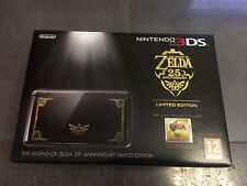 NINTENDO 3DS CONSOLE LIMITED EDITION THE LEGEND OF ZELDA ITA NEW SEALED