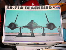 NEW LOCKHEED SR-71A BLACKBIRD AIRCRAFT MODEL MINICRAFT HASEGAWA MACH+ SUPERSONIC