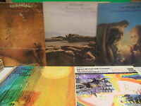 The Moody Blues 5 LP LOT Every Good Boy, Seventh Sojourn, In The Beginning, Days