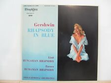 Gershwin Rhapsody in Blue  - Philharmonia Orchestra Side 1 Rhapsody In Blue LP