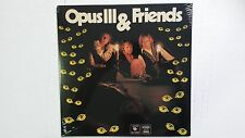 OPUS III & FRIENDS - s/t NEW/SEALED 1970 Prog Psych Reissue Janne Schaffer