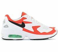 Nike Air Max 2 Light Herren Sneaker Weiß-Rot AO1741-101 Freizeit Sport Schuhe