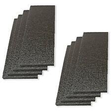 """Lot of 3 Black Rubber Foam/_15-1//2/"""" x 6-3//4/"""" x 1/"""""""
