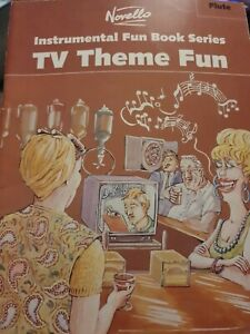 TV Themes Fun For Flute & Piano Easy Sheet Music Book