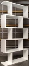NEW Kote Room Divider Bookcase White Australian Made Lounge Study Living Room