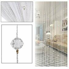 6.5x3.2 Door Beads Curtain Wall Panel Doorway/Window Crystal String Divider