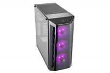 Cooler Master MasterBox MB520 RGB ATX Mid-Tower W/ Front DarkMirror Panel, Front