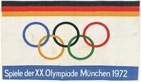 Große Original Fahne, XX. Olympische Spiele in München von 1972