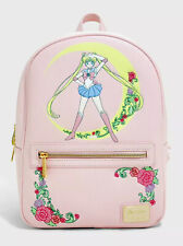 Loungefly Sailor Moon Crescent Moon Mini Backpack Bag RARE NWT