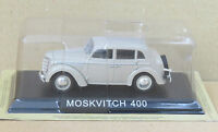 "DIE CAST "" MOSKVITCH 400 "" LEGENDARY CARS SCALA 1/43"